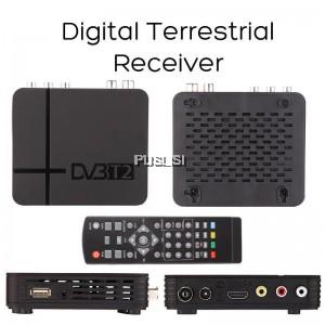 K2 DVB-T2 DVB T2 Digitale Video Ricevitore Adattatore High Definition MPEG4 PVR HD1080P