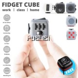 Fidget Cube Stress Reliever Magic Cube (READY STOCK) + FREE ZIP BAG