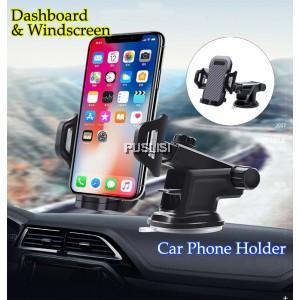 360 Rotating Car Windshield Dashboard Phone Holder Mount