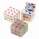 Rubik's cube Chinese Mahjong 3x3x3 white Mahjong transparent Mahjong Style