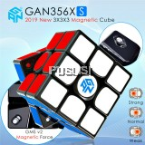 GANCube Original GAN 356 XS GAN356XS Magnetic 3x3 Magic Rubik's Cube (Free 10ml Gan Magic Oil)