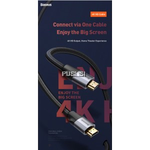 Baseus Original High Speed HDMI 2.0 Cable 4K Male to Male Cord for Monitor Computer TV Display Projector HDTV