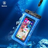 Baseus Original IPX8 Waterproof Airbag Floating Screen Touch Phone Bag for iPhone Xiaomi Samsung Huawei Oppo Vivo