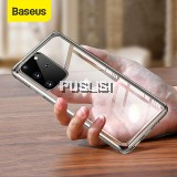 Baseus Original Clear Soft TPU Phone Case Silicone Cover For Samsung Galaxy S20 Plus S20 Ultra