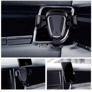 Baseus 360 Degree Car Mount Gravity Air Vent Rotation Holder Stability Triangle