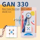 GAN330 Speed Cube 3x3x3 Keychain Cube 3x3 Cubo Magico 3x3x3 Magic Cubes GAN 330 Speedcube Cubeing Cuber Puzzle Toy