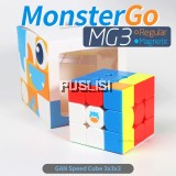 Monster Go Mg3 Magnetic Cube 3x3x3 Gan MG356 3X3 MonsterGo Regular Speed Cube 3x3 Regular Puzzle Cubo Magico Magnet Toy
