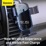 Baseus Original 15W QI Wireless Car Mount Charger Air Vent Phone Holder For iPhone Samsung Huawei Xiao Mi