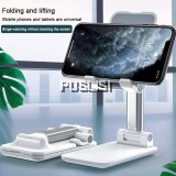 Original Material Universal Foldable Phone Stand Support Desk Mobile Phone Holder Stand For iPhone iPad Adjustable Metal Desktop Tablet Holder