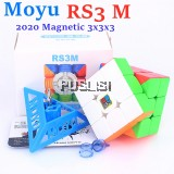 2020 Original Moyu RS3M Magnetic 3x3x3 Rubik Magic Cube MF3RS3 M 3x3 Rubik's Cube RS3 M Magnetic Speed Cube