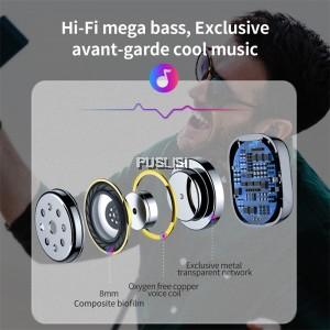 Beseus Original A03 Wireless Bluetooth Single Stereo Earbud In-Ear Headset Earphone