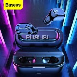 Beseus Original W01 True Wireless Earbuds TWS Bluetooth Headphones with 2000mAh Charging Case Stereo In Ear Gaming Headset Earphone Buds