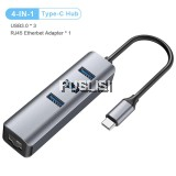 USB Gigabit Ethernet USB 3.0 2.0 to RJ45 HUB for Xiaomi Mi Box 3/S Set-top Box Ethernet Adapter Network Card USB Lan