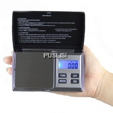 Scale 300-0.01g / 500-0.01g Mini Portable Digital Scale Jewellery Pocket Balance Weighing Scale