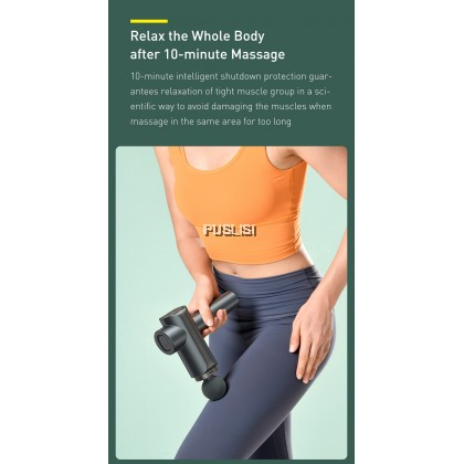 Baseus Original Dual-mode Massage Gun Muscle Relaxer Massager Muscle Pain Body Neck Massage Exercising Relaxation Slimming Shaping Pain