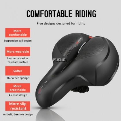 YAFEE MTB Bicycle Seat Big Butt Saddle Saddle Mountain Bike Seat Bike Seat Cover Foam Cushion