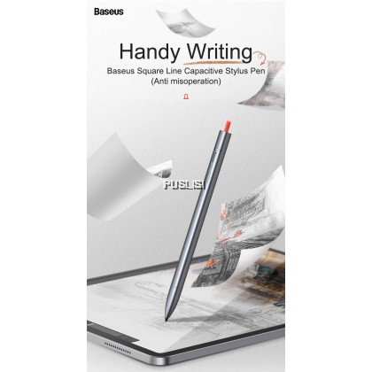 Basues Original Square Line Capacitive Stylus pen (Anti misoperation) Drawing Wirting Pen Screen Touch Pen for iPad Pro