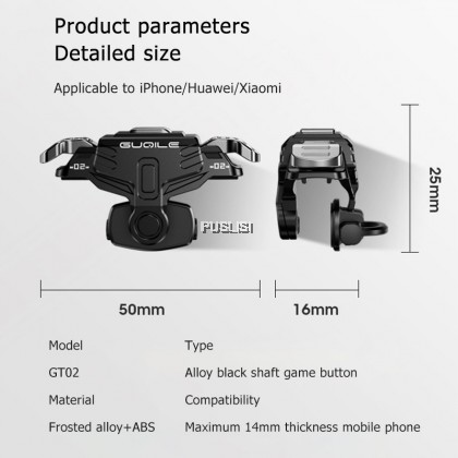 Original Mini PUBG Mobile Gamepad Controller Game Trigger L1R1 Button Joystick Joystick
