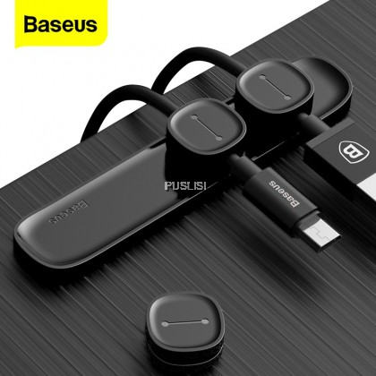 Baseus Original Magnetic Cable Organizer Cable Protector Holder with Clip for USB Cable Management for Every Mobile Phone USB cable