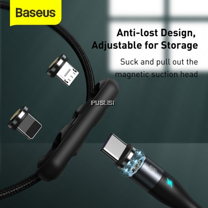 Baseus Magnetic Cable Fast Charging USB Type C Cable Magnet Micro USB Data Charging Wire Mobile Phone Cable