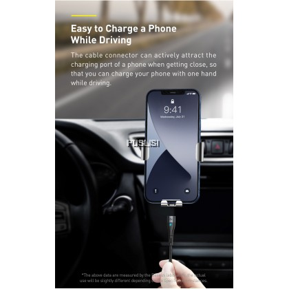 Basues Original PD 20W  Type-C to iP Zinc Magnetic Safe Fast Charging Data Cable For iPhone Lightning