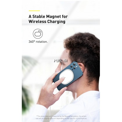 Baseus Original 15W Qi Magnetic Wireless Charger For iPhone 12 11 Pro Max Mini Induction PD Fast Wireless Charging Pad For Xiaomi Samsung