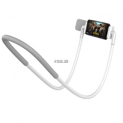 Baseus Original Flexible Lazy Neck Phone Holder Stand For iPhone Samsung Xiaomi Phone Desk Mount Bracket