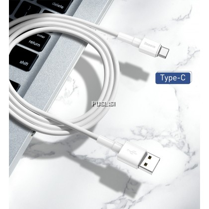 Baseus Original Type C USB QC3 QC2 Fast Charging Data Transfer Cable 1M 3A Quick Charger