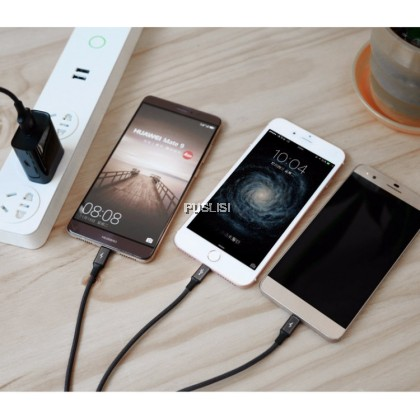 Baseus 3-in-1 3A fast charging cable Micro USB Lightning Type-C