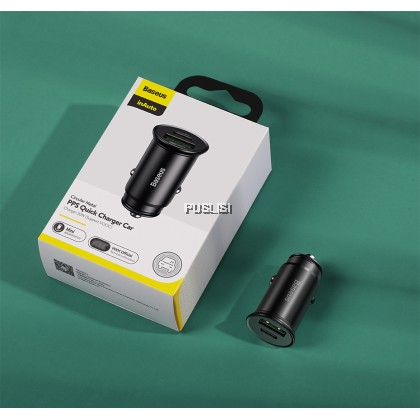 Baseus Original Fast Charge USB Car Charger For iPhone Xiaomi Huawei QC4.0 QC3.0 VOOC Auto Type C PD Car Mobile Phone Fast Charger