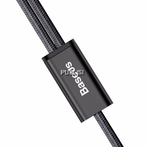 Baseus 2 in 1 fast charging cable Micro USB Lightning  Iphone Android