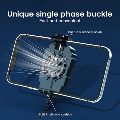 Mobile Phone Mobile Phone Cooler Cooling Fan Holder External Game For PUGB Back Clip Fan G6 Physical Cooling