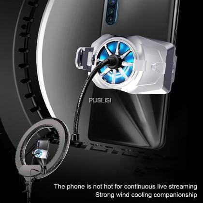 G2 Universal Portable Mobile Phone Holder Bracket Stand Radiator Cooling Fan
