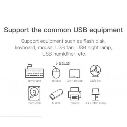 Baseus Original USB 3.0 4-Port USB Hub 5Gbps Adapter USB Type C HUB Computer PC for Macbook Type C USB 3.0 HUB for Huawei