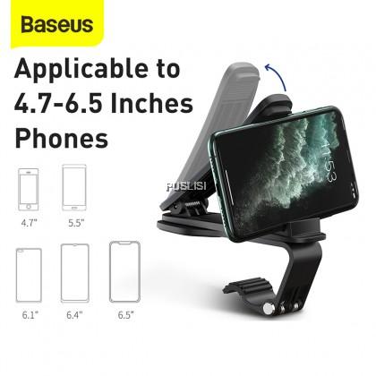 Baseus Original Big Mouth PRO Car Holder Mount Dashboard Clamp Black
