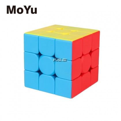MoYu MeiLong 3C 3x3x3 Stickerless Rubiks Rubik's Magic Cube Meilong 3x3 Professional 33 Ultra smooth Rubik Puzzles