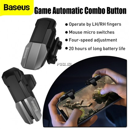 Baseus Original GAMO Mobile Game Automatic Combo Button Suit Mobile Game Scoring Tool Easy Operation and Stable Connection Mouse Micro Switches 4-speed Adjustment