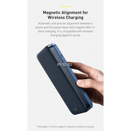 Baseus Original Magnetic Wireless quick charging power bank 10000mAh 20W Portable Powerbank For iPhone 12 Pro MAX