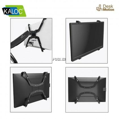 Kaloc Original DS90 17-32 inch KLC-DS90 Single Monitor Stand 1 Monitor Ergonomic Desk Stand Monitor Mount 24 inch 27 inch