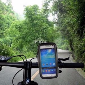 Bike Bicycle Motorcycle Waterproof Phone Case bag with Mount Holder 2