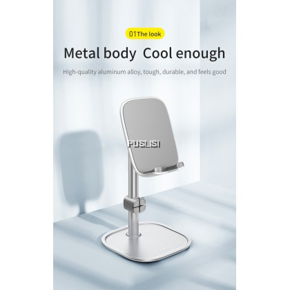 Baseus Original Upgrade Adjustable Phone Holder No Slip Stable Desk Mobile Phone Stand For iPhone 12 11 XR Samsung Xiaomi Huawei Tablet