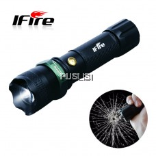 iFire  super bright outdoor Bike Torchlight mini LED Flashlight  Rechargable For Cycling / Hiking/ Camping