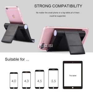 Universal Foldable Mobile Phone Desk Stand Holder For Tablet PC iPhone iPad