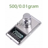 0.01-500g Portable Digital Pocket Jewellery Weighing Scale