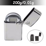 200g x 0.01g LCD Digital Pocket Jewellery Gram Balance Weight Scale Lighter Style