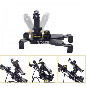 Bike Phone Mount Holder Portable Bicycle Motorcycle Stand for Smartphone