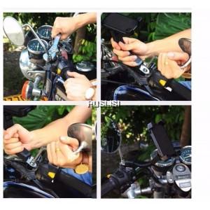 Adjustable Universal Motorcycle Bike Bicycle MTB Handlebar Mount Phone Holder