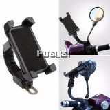 Adjustable Universal Motorcycle Bike Bicycle MTB Handlebar Mount Phone Holder