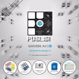GAN 356 Air SM Rubik cube puzzle magic speed cube professional