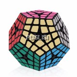Megaminx Brain Teaser Rubik Cube 4x4 Speed Cube Twisty Puzzle Toy